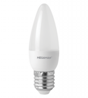 Megaman 3.8W Classic Opal Dimming Candle 2800K, E27, 250lm