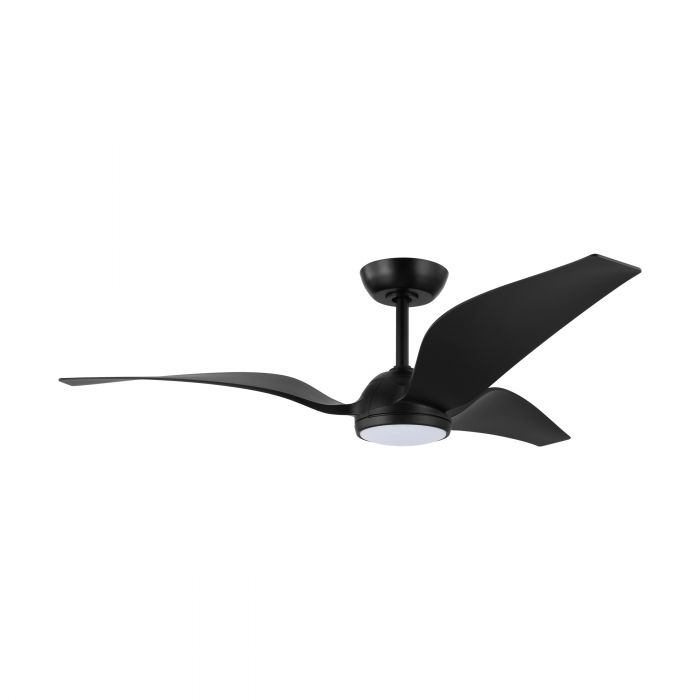 Eglo MOSTEIROS ceiling fan & light Black Matt Black Matt