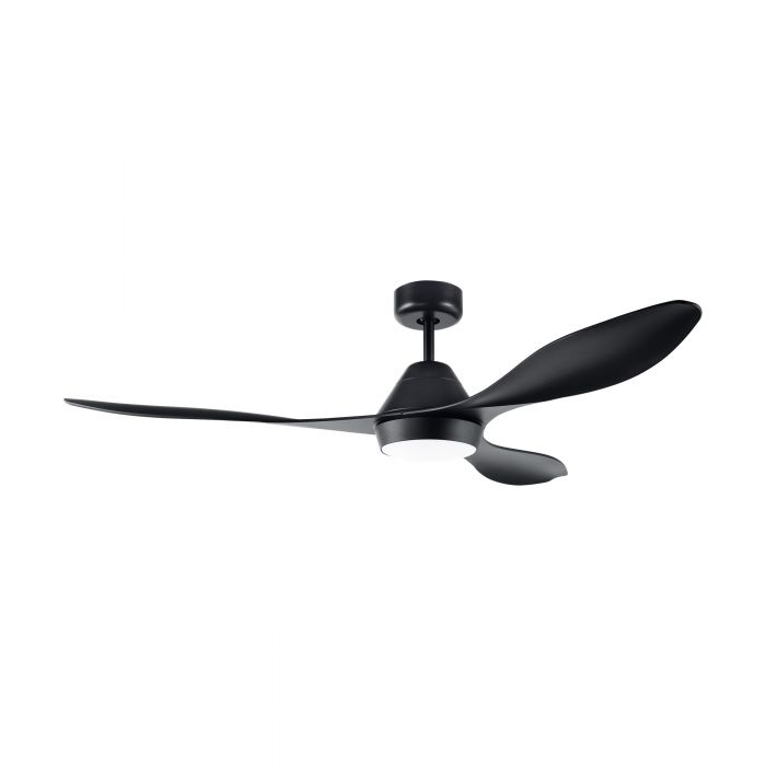 Eglo ANTIBES ceiling fan & light Black Matt Black Matt