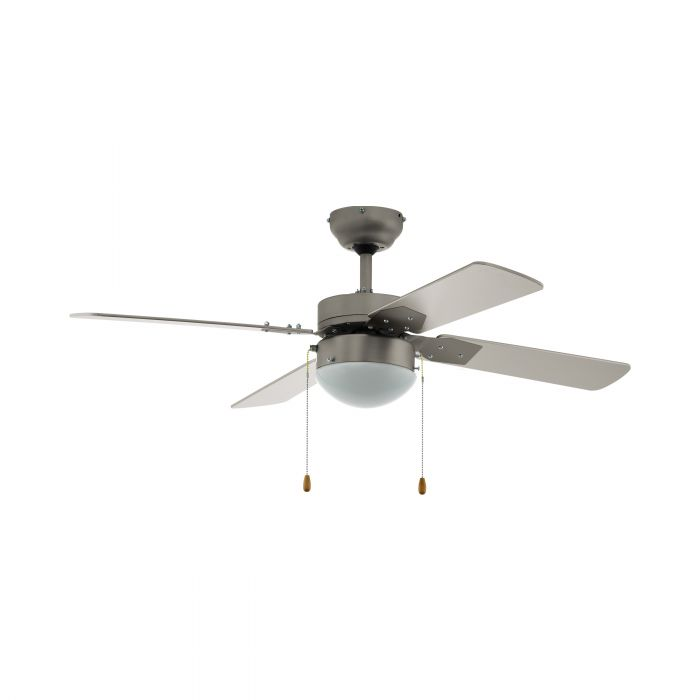 Eglo GELSINA ceiling fan & light Satin Nickel Satin Nickel