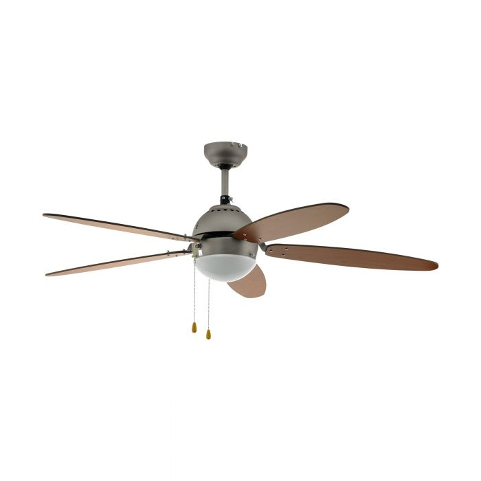 Eglo SUSALE ceiling fan & light Satin Nickel Satin Nickel