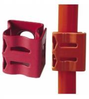** Red ** Double Size 02 Prysmian Firefix Clip 3102954P100  921622 100 BAG