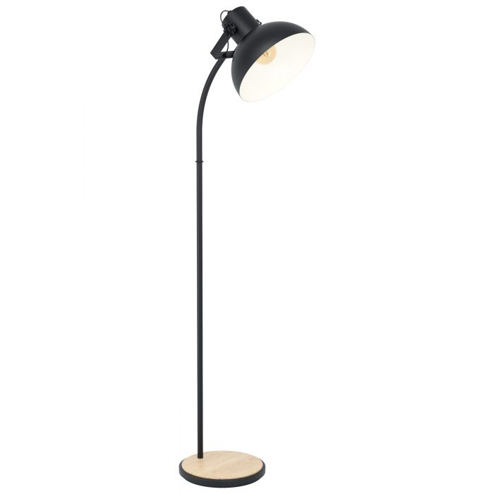 Eglo LUBENHAM floor light Black, Brown Black, Brown