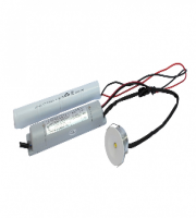 Red Arrow Non Maintained Emergency 3W LED Fitting (White Trim)