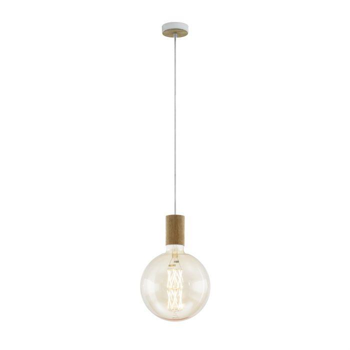 Eglo TAVISTOCK pendant light Creme, Oak Creme, Oak