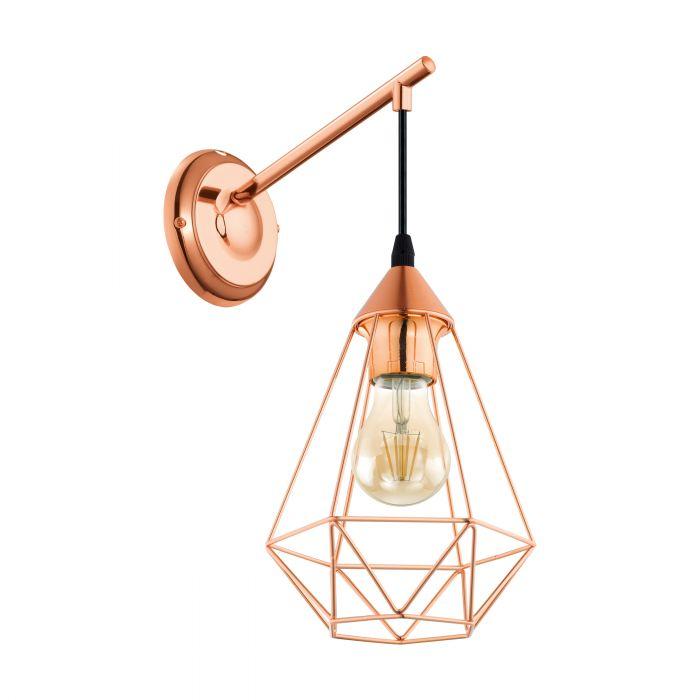Eglo TARBES wall light Copper Copper SALE ITEM