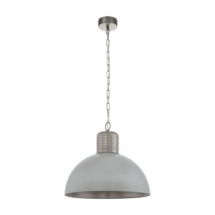 Eglo COLDRIDGE pendant light Pearl Grey, Winter Grey Pearl Grey, Winter Grey