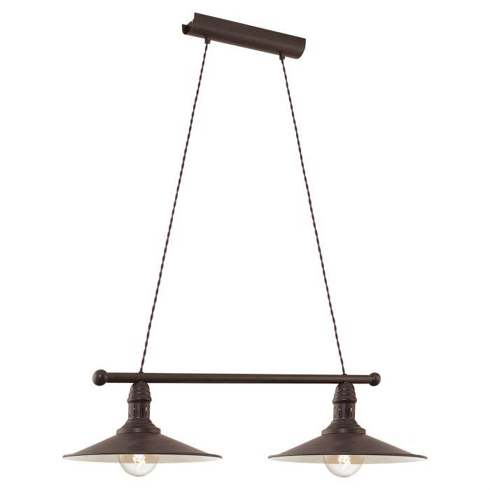 Eglo STOCKBURY pendant light Antique-brown, Beige