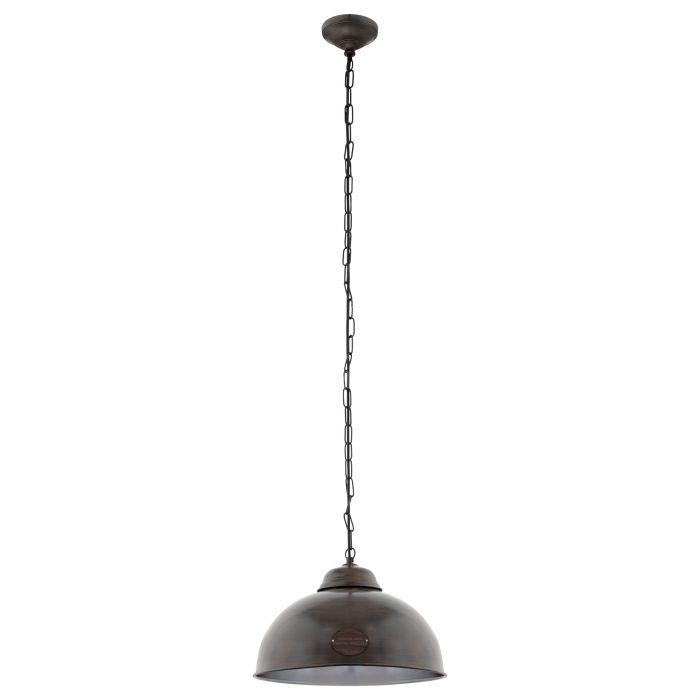 Eglo TRURO 2 pendant light Antique-brown