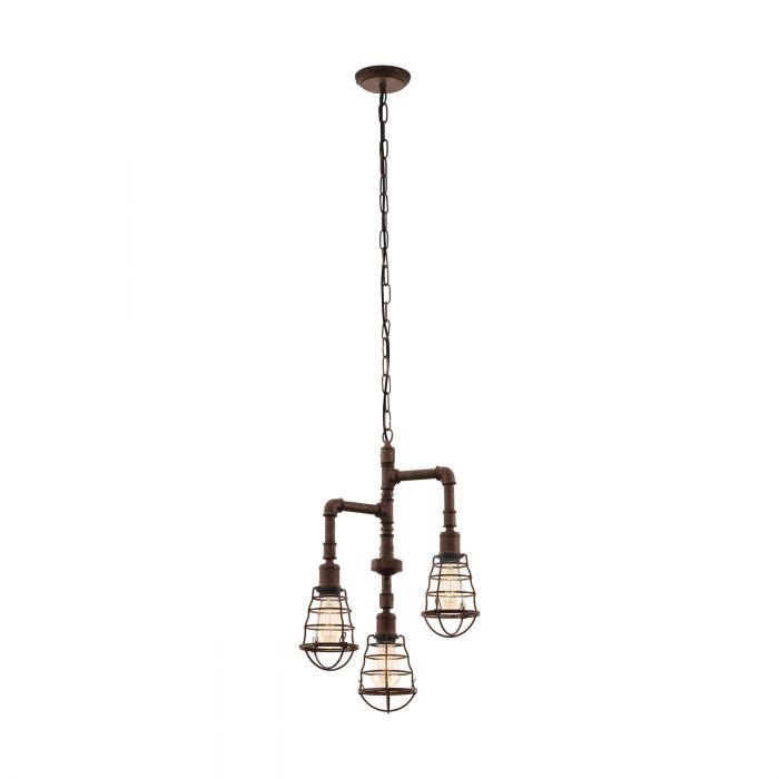 Eglo PORT SETON pendant light Antique-brown Antique-brown
