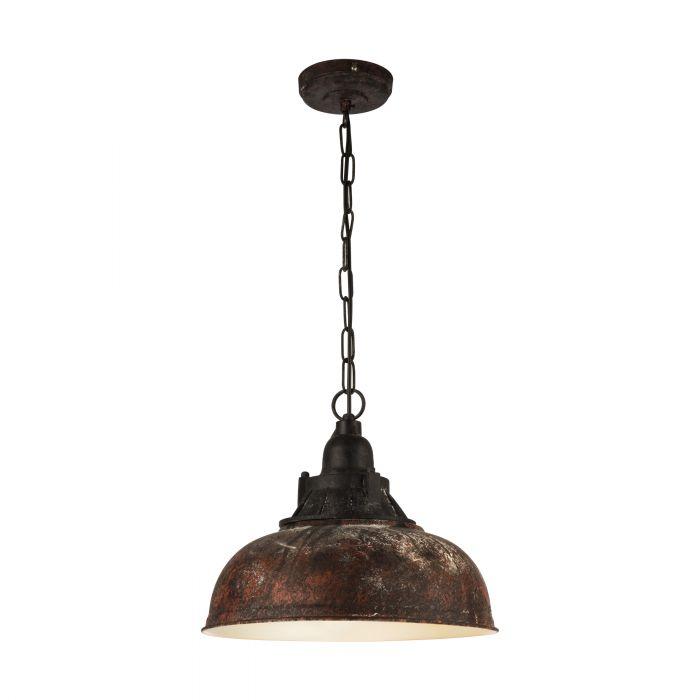 Eglo GRANTHAM 1 pendant light Antique-brown, Beige Antique-brown, Beige