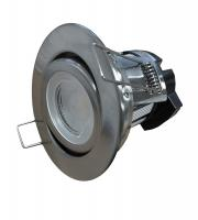 ElanX Dimmable 8w Tilt Downlight (tilt, brushed nickel, warm white)