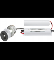 ML ACCESSORIES 230V IP20 3W LED Emergency Downlight Non-maintained (White, Black, Aluminium)
