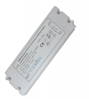 Ecopac 50W Mains Dimmable Constant Voltage LED Driver (White)