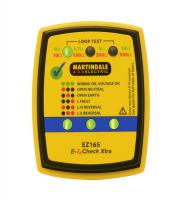Martindale EZ165 Socket & Non-Trip Earth Loop Tester (Yellow)