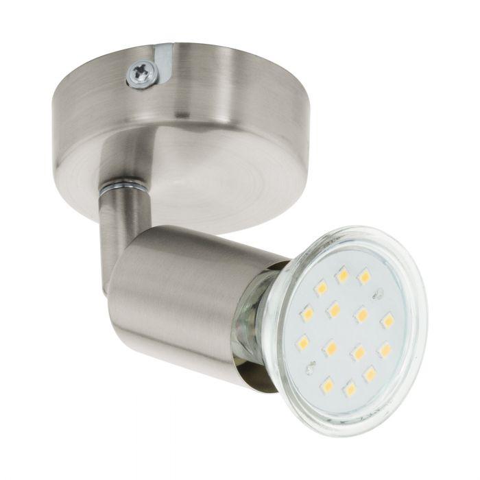 Eglo BUZZ-LED spot Satin Nickel Satin Nickel