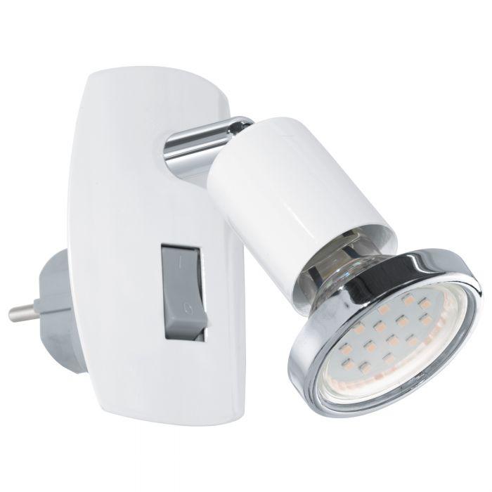 Eglo MINI 4 plug light White, Chrome White, Chrome