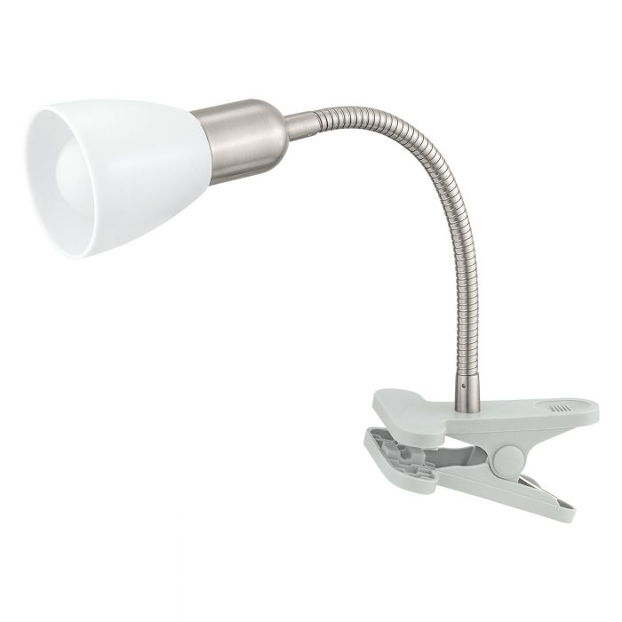 Eglo DAKAR 3 clamp light Silver, Chrome Silver, Chrome