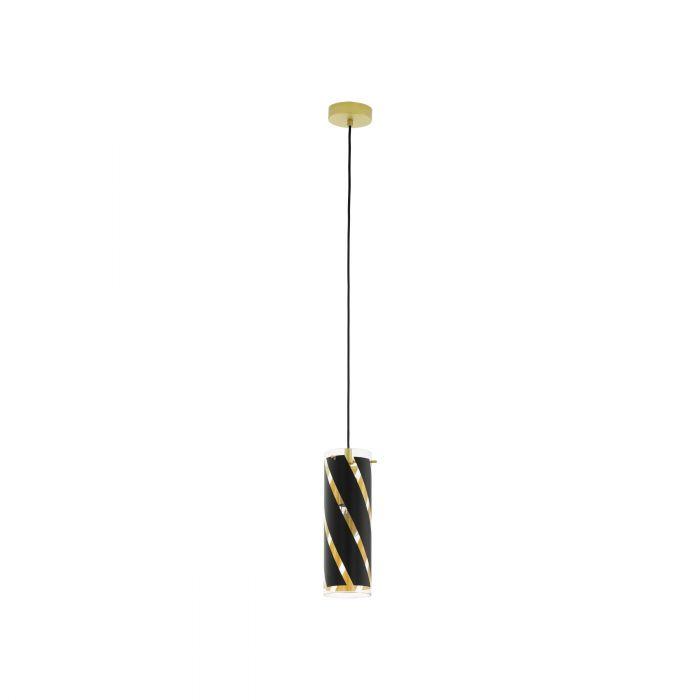 Eglo PINTO NERO 1 pendant light Gold-coloured