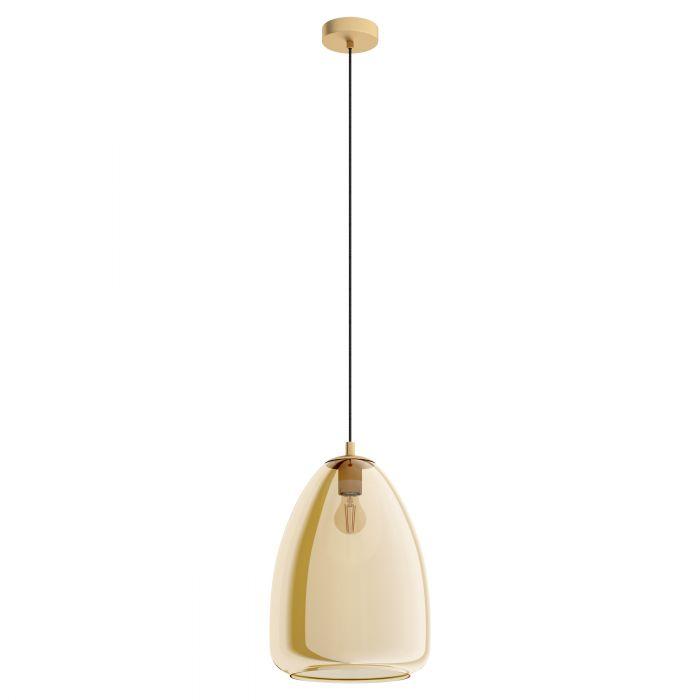 Eglo ALOBRASE pendant light Brushed Brass