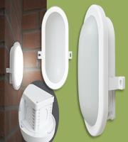 Eterna Atom IP65 6W Outdoor LED Bulkhead (White)