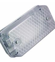 Ansell Lighting 100W IP65 E27 Bulkhead (White)