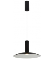 Ansell Amber 3000K Led Dimmable Pendant (Black)