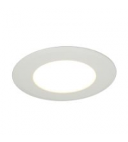 Ansell 12W Bexar 3000K Led Downlight (White)