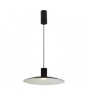Ansell Druzy 3000K Led Dimmable Pendant (Black)