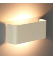 Ansell Fascia Wall Light White Front Cover