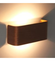 Ansell Fascia Wall Light Walnut Front Cover