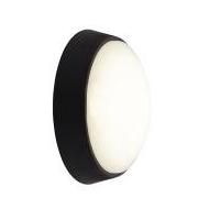 Ansell Helder Led Circular Bulkhead- Black