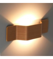 Ansell Mitre Wall Light Oak Front Cover (Oak)