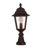 Ansell Nizza E27 Pillar Lantern (Black)