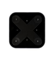 Ansell Octo Wall Switch - Black - Xswitch