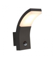 Ansell 6.5W Senza Pir 4000K Led Wall Light (Graphite)