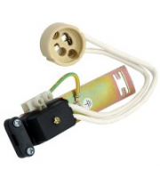 Ansell GU10 Stirrup Lampholder C/w Earth