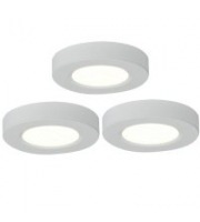Ansell Trio 3000K Led Cabinet Light Kit (White)