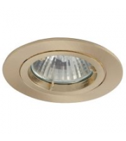 Ansell Twistlock 50W Downlight  (Brushed Brass)