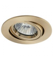 Ansell Twistlock 50W Brushed Brass Gimbal (Brushed Brass)