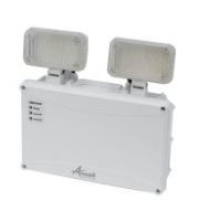 Ansell Owl Twin Spot Led Non-maintained, Self-test (White)