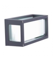 Ansell Volant Led Square Wall Light (Graphite)