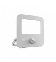 Ansell 30W Zion 3000K LED Floodlight With PIR (White)