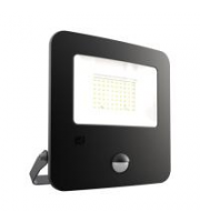 Ansell 50W Zion 4000K LED Floodlight With PIR (Cool White)