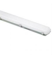 Aurora 1200mm 50W Polycarbonate IP65 Twin Emergency LED Non-Corrosive (White)