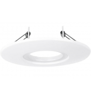 Aurora Lighting i10 Fixed 85mm-145mm Downlight Adaptor Plate (Satin Nickel)