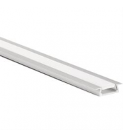 Aurora 2000mm Recessed LED Aluminium Profile (Aluminium)