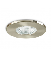 Collingwood Fire Rated Fixed Downlight IP20 (Brushed Steel)