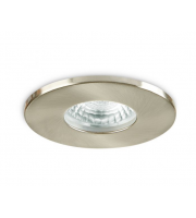 Collingwood Fire Rated Fixed Downlight IP65 (Brushed Steel)