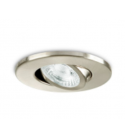 Collingwood Fire Rated Adjustable Downlight IP20 (Brushed Steel)